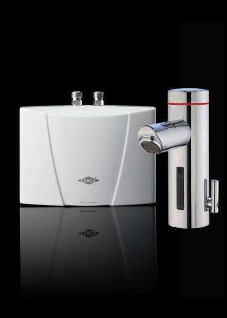 MBX 3/7 Lumino, Elegantní provedení s bezdotykovou armaturou a optickou indikací teploty