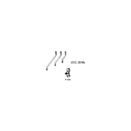 Výtoková raménka pro M2..M7/SMB a příslušenství armatur pro instalace